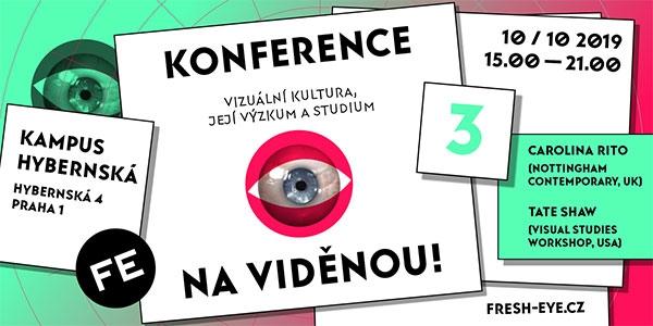 10. 10. Praha / Knihkupectví ArtMap na Konferenci NA VIDĚNOU III.