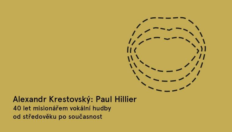 23. 4. Praha / Alexandr Krestovský: Paul Hillier, 40. let misionářem vokální hudby / Večery Pandory v Knihkupectví ArtMap